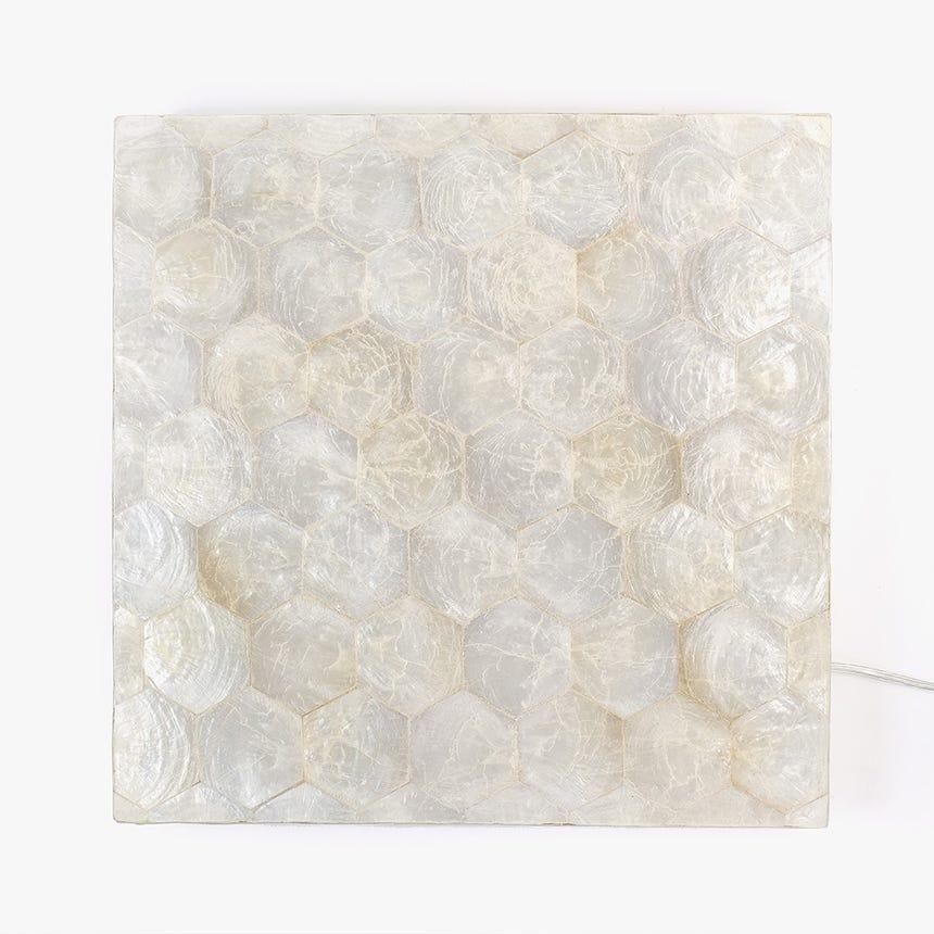 Aplique de parede Conchas LED