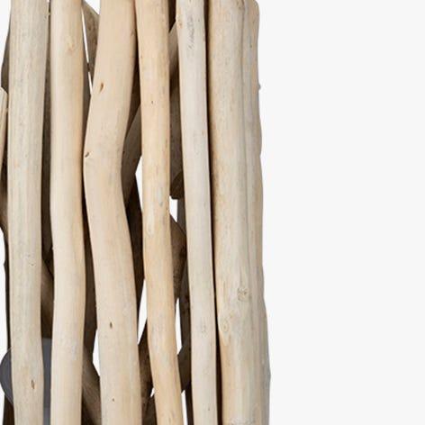 Candeeiro de pé  troncos 32x32x150.5 cm