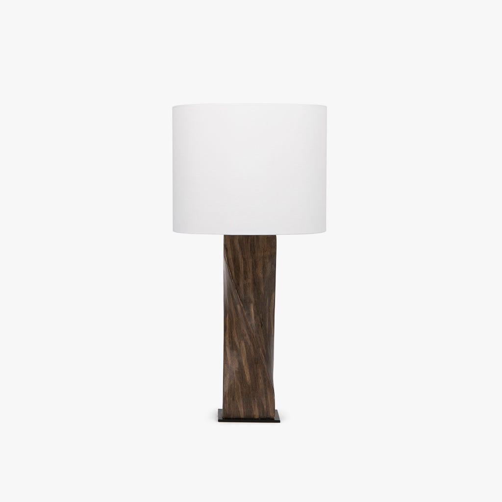 Candeeiro de mesa  tronco d25x49 cm