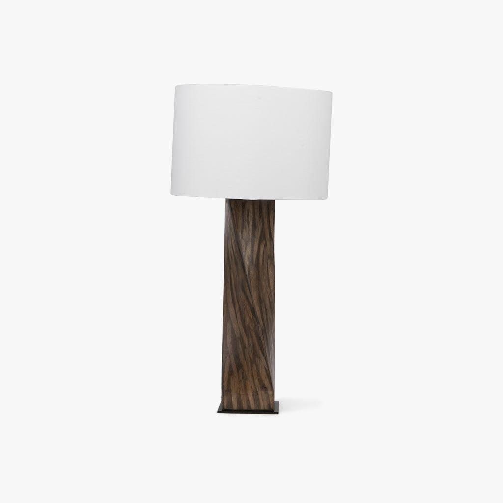 Candeeiro de mesa  tronco d30x60 cm