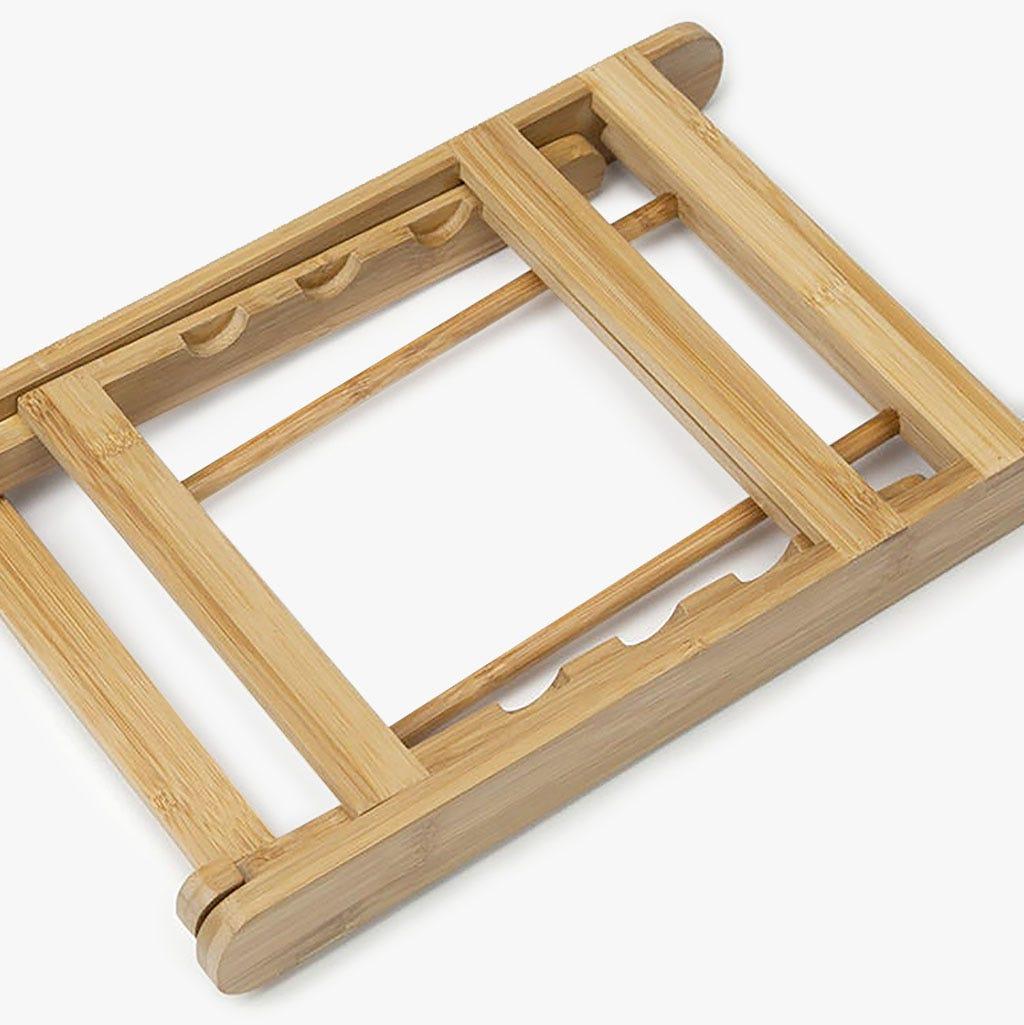 Suporte Bambu para Livro