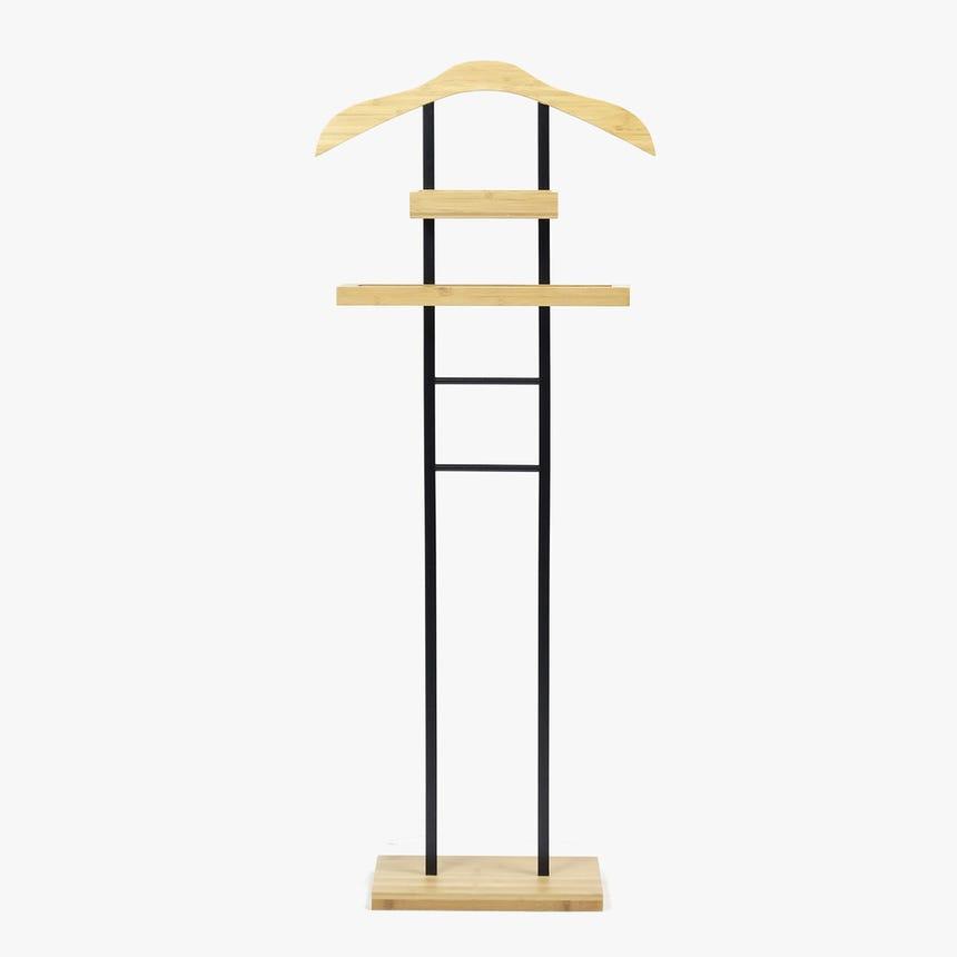 Cabide de Quarto Bambu 47x23x117 cm