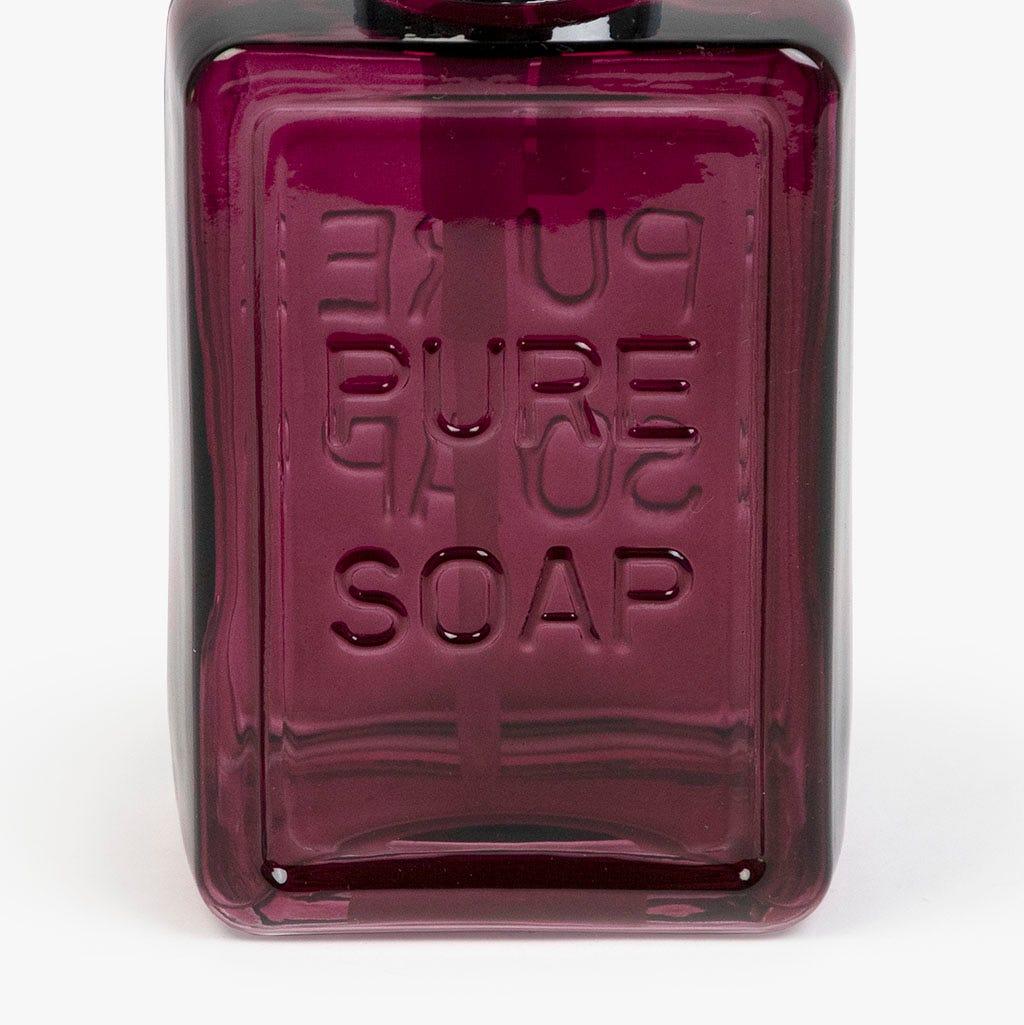 Doseador Pure soap vidro vermelho