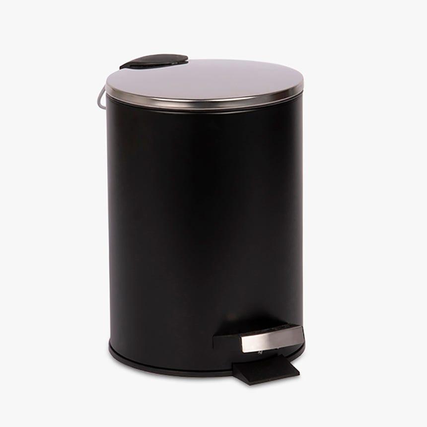 Caixote do lixo preto 3L