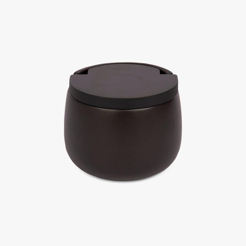 Saleiro All Black mostarda 50x70 cm