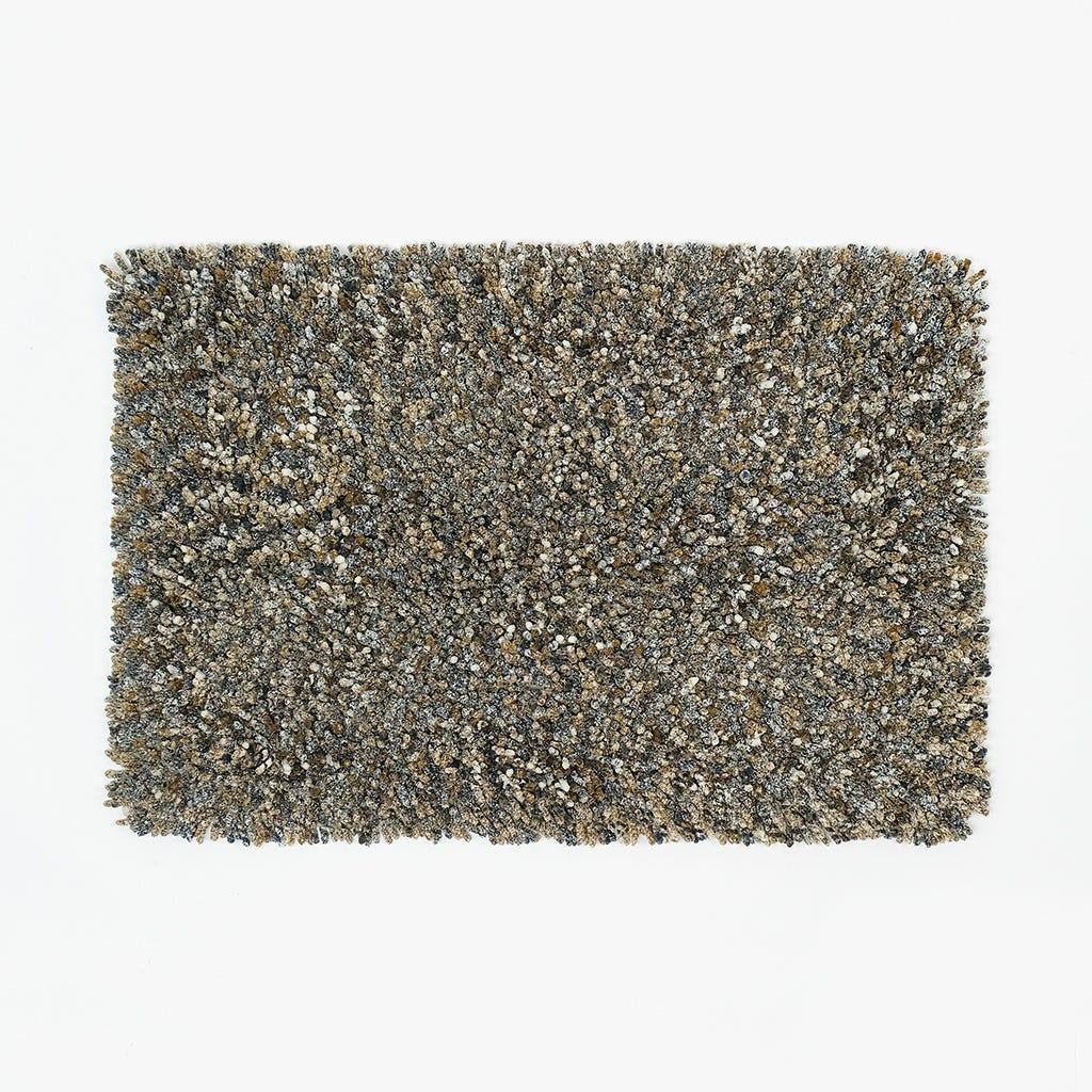 Alfombrilla de Baño Anémona Marrón 50x80 cm