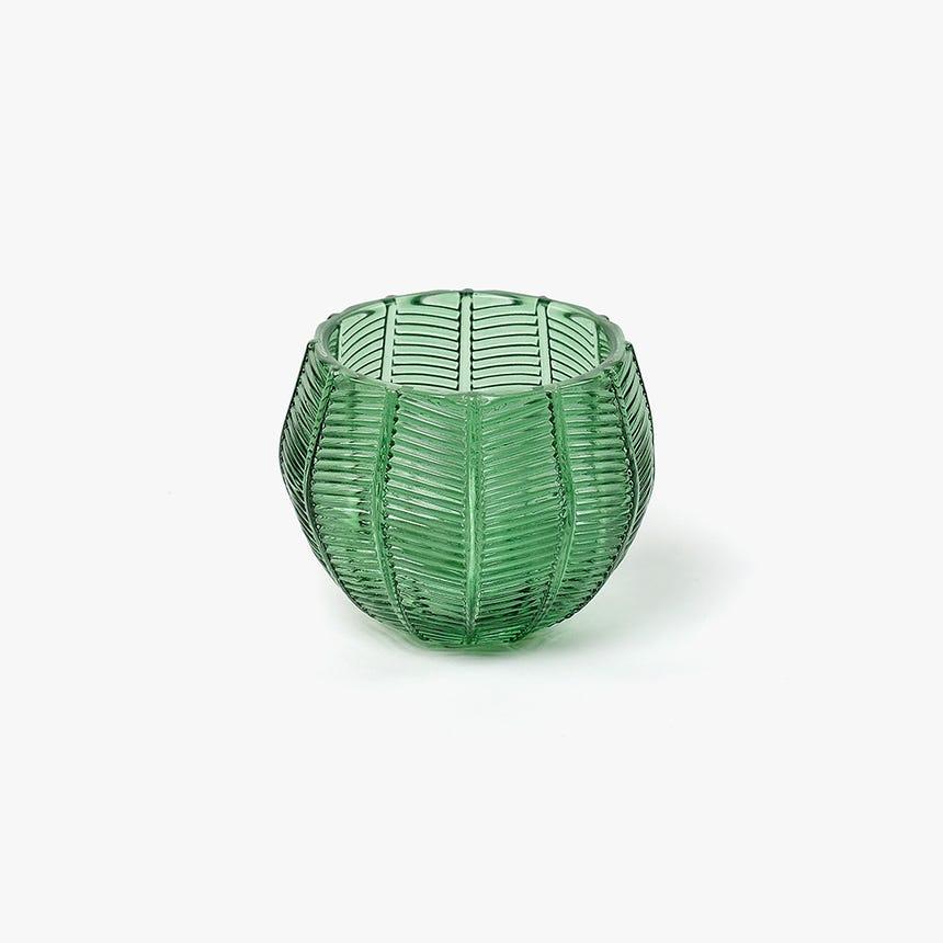 Tealight Verde 10x10x8 cm