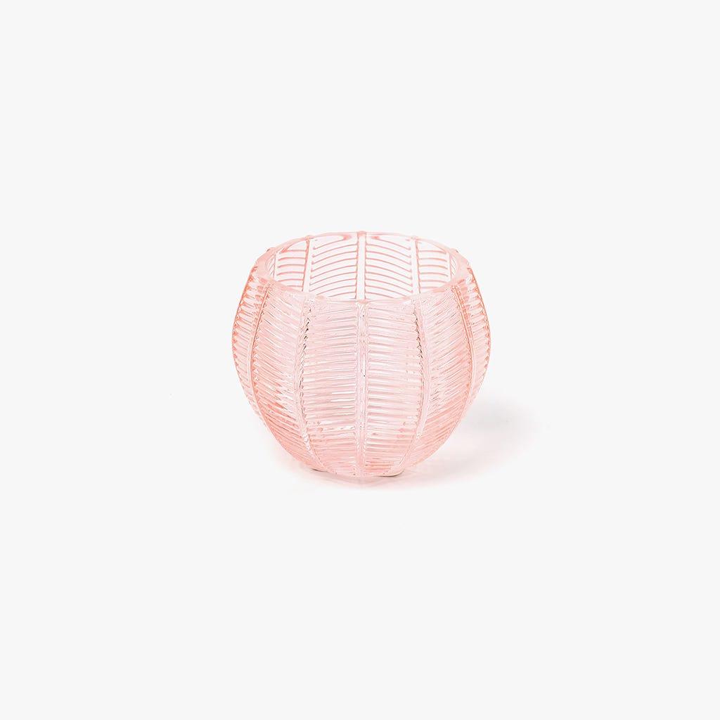 Tealight Rosa 10x10x8 cm