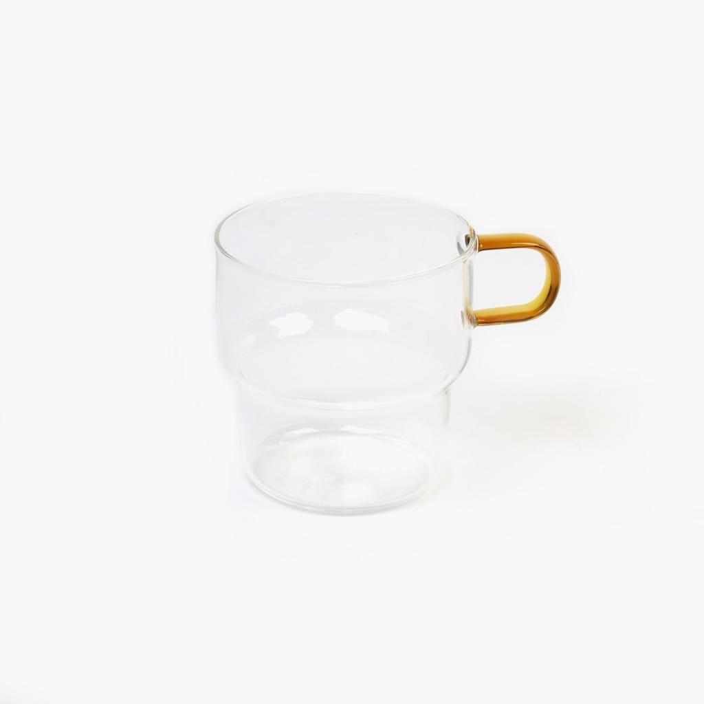Chávena de Café Vidro borossilicato Laranja