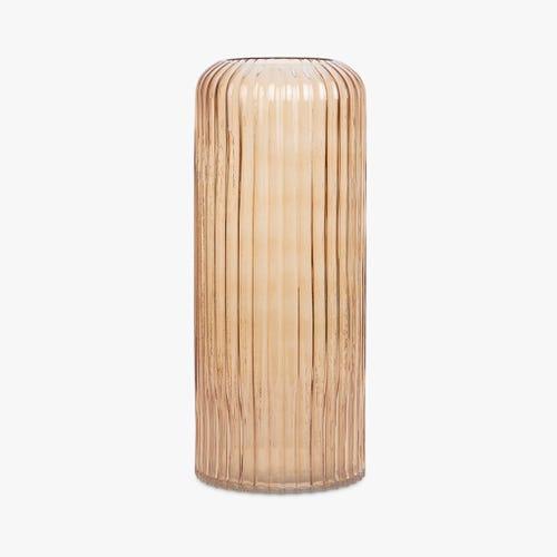 Vase Simply Stripes Ambar 15x36 cm