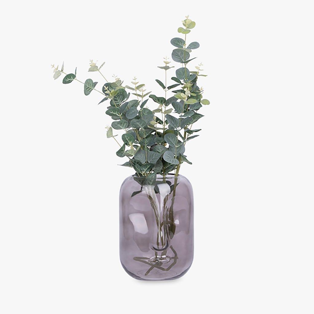 Vase Simply visage Gris 18x25 cm