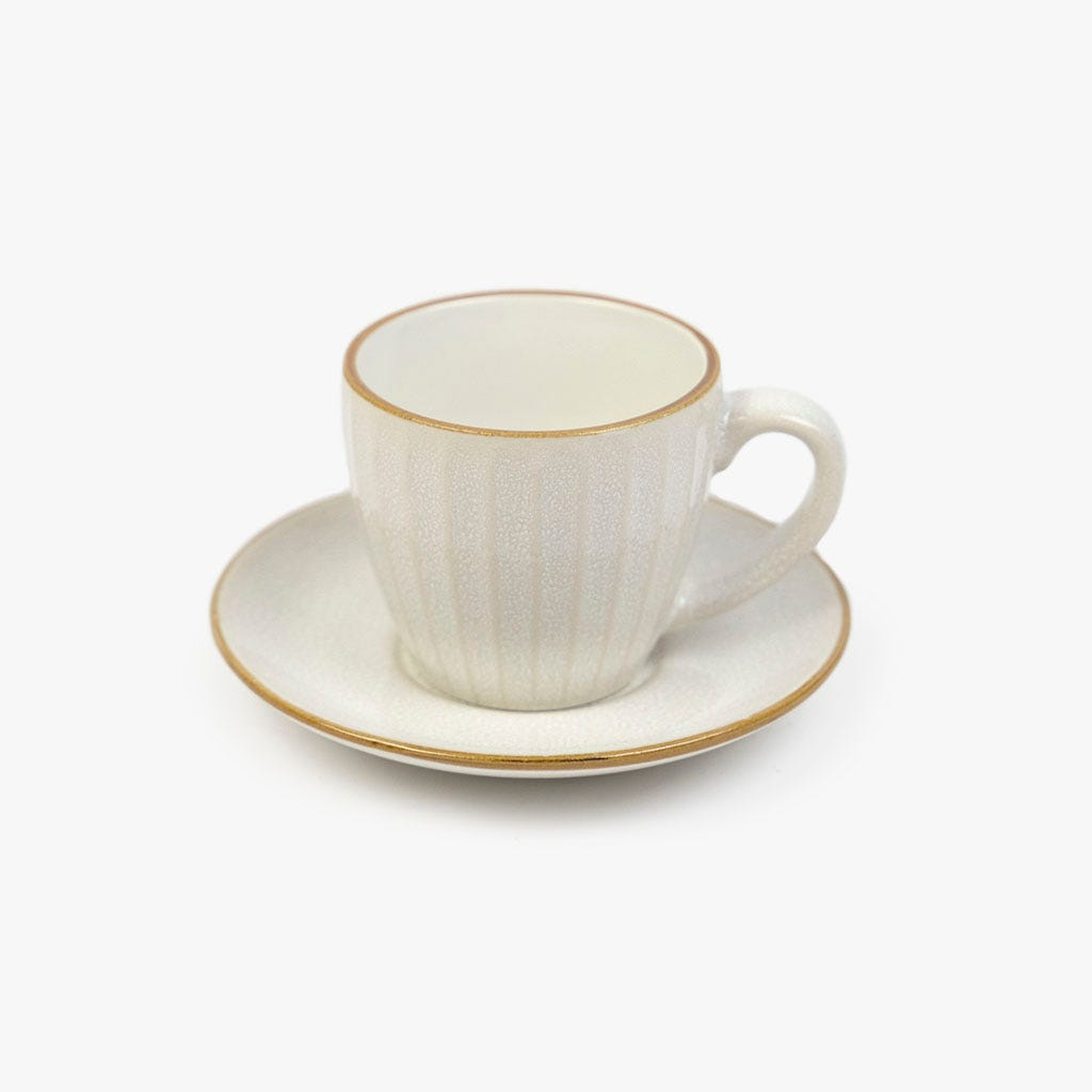 Chávena de café Nenúfar Branco
