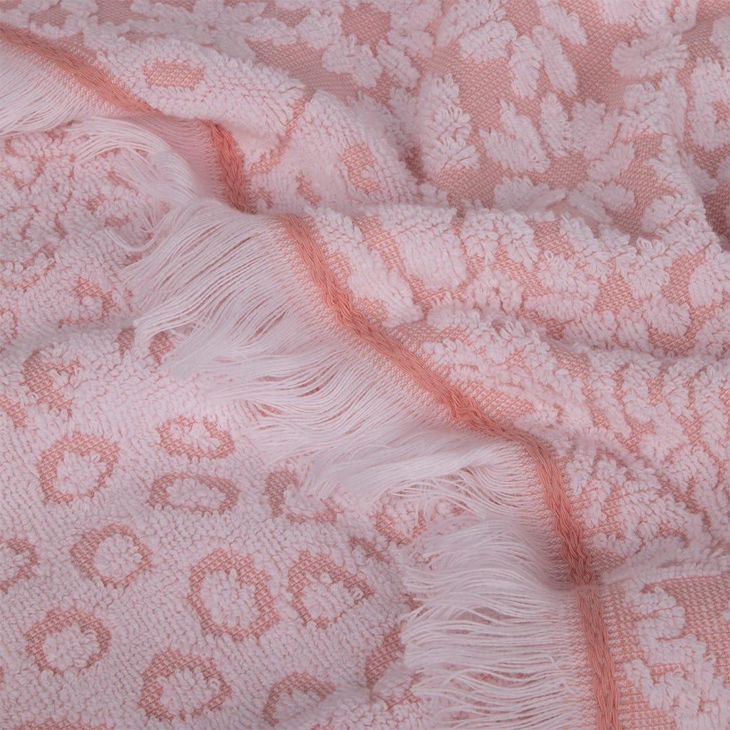 Toalha de banho Reef Rosa 100x150 cm