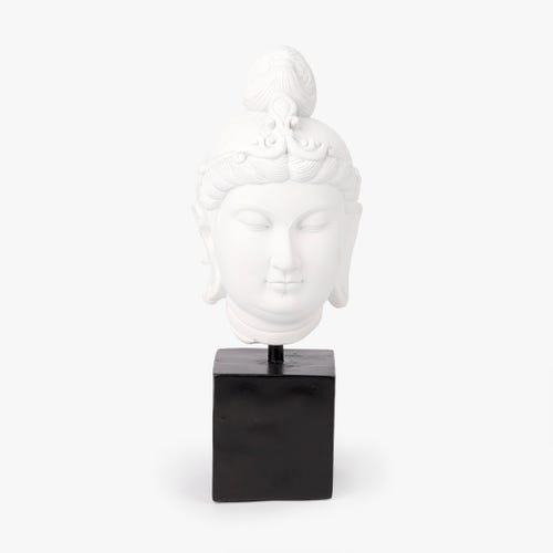 Peça decorativa Buda 13x14x35 cm
