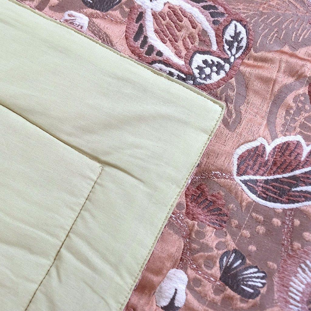 Edredão Havana Folha Rosa 240x260 cm