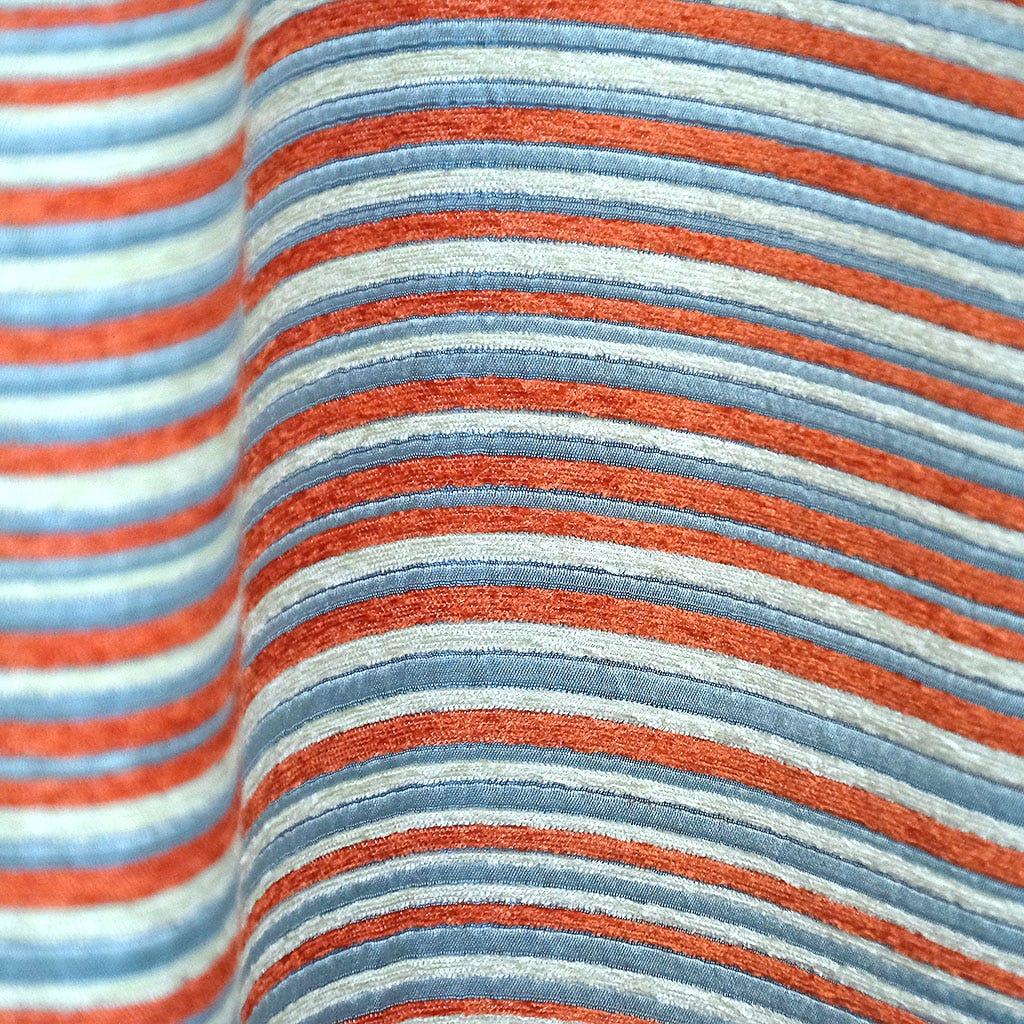 Cortinado Havana Riscas Laranja 135x250 cm
