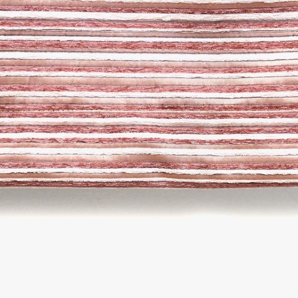 Cortinado Havana Riscas Rosa 135x250 cm