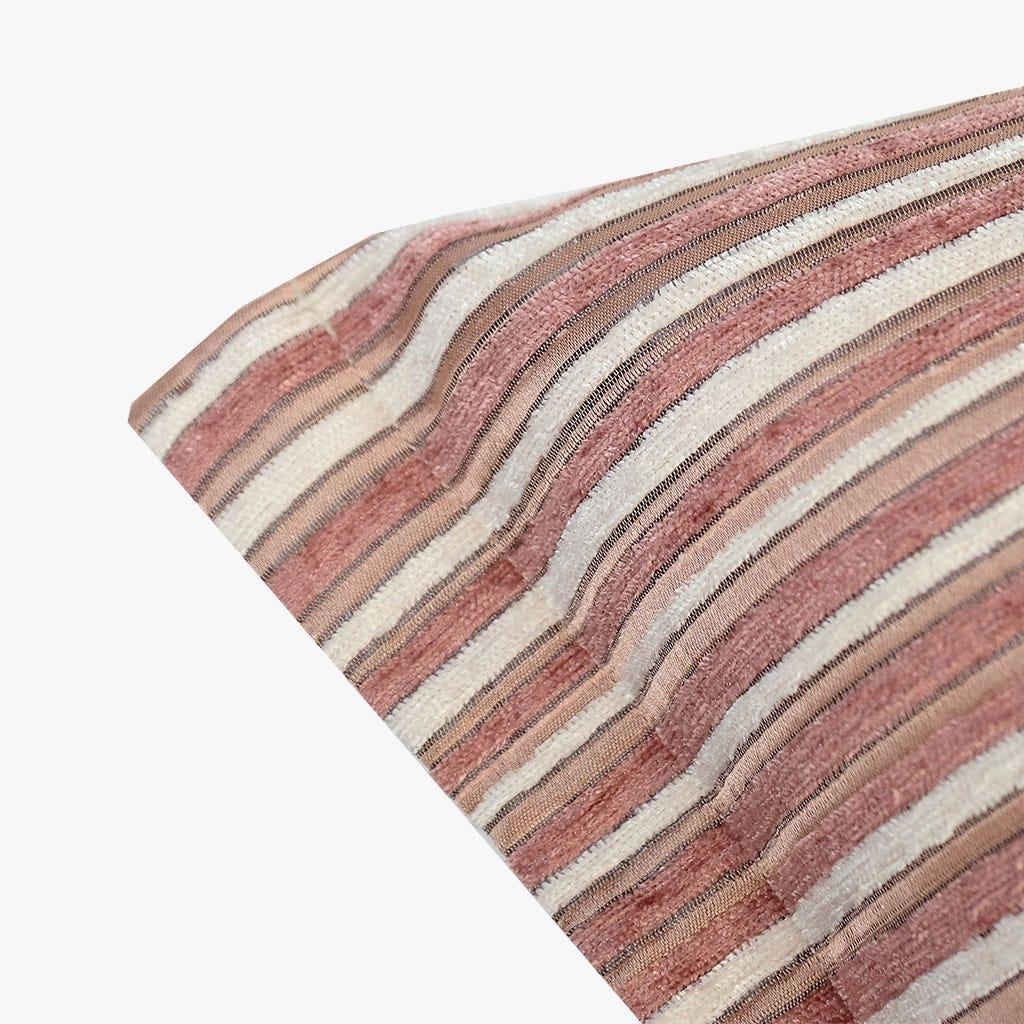 Cojín Havana Rayas Rosa 35x55 cm