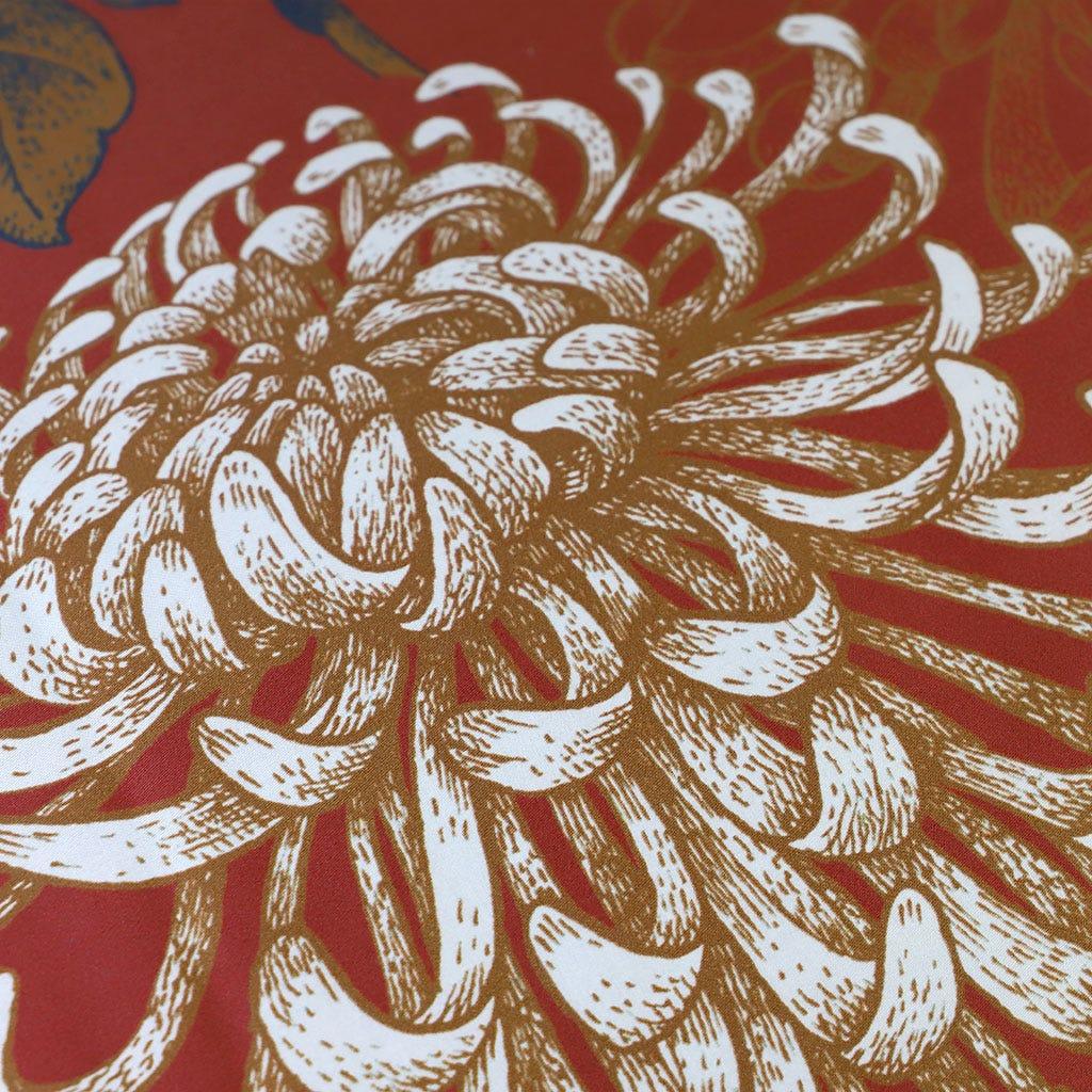 Edredão Asia Vermelho 240x260 cm