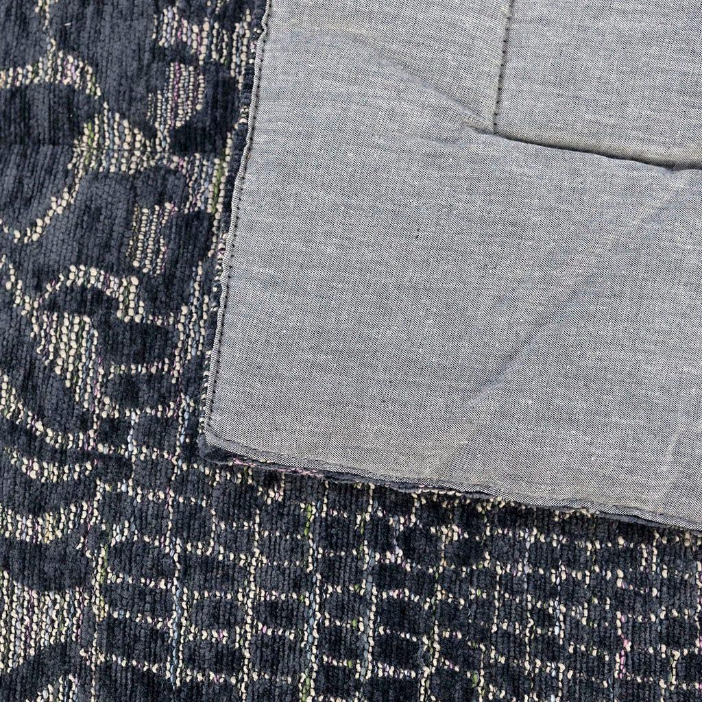 Edredão Jungle fever Patch Azul e Cinza 240x260 cm