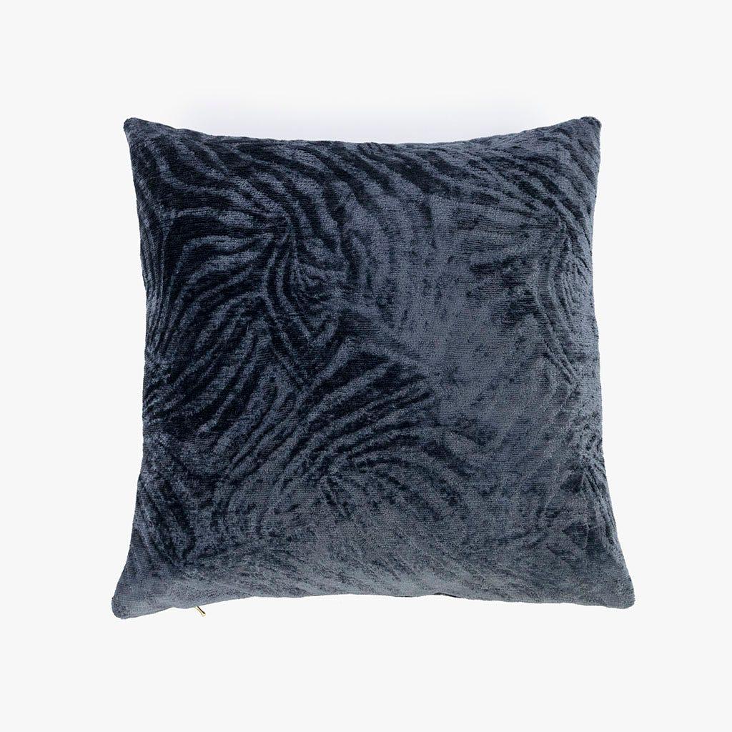 Capa de almofada Jungle fever Zebra Azul Escuro 45x45 cm