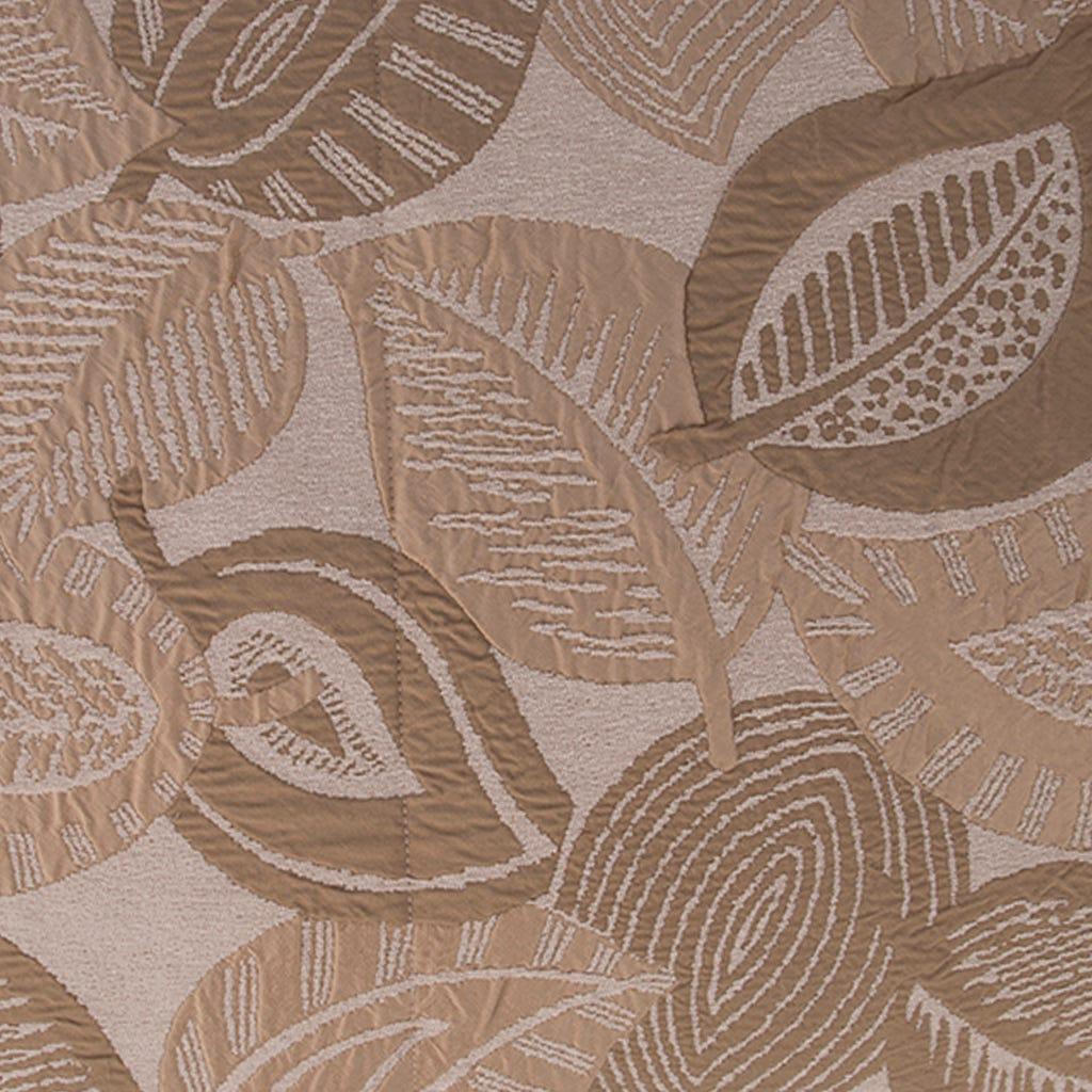 Edredão Stella folha Bege 240x260 cm