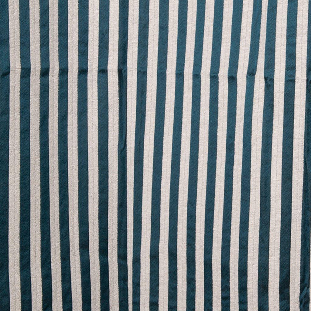 Cortinado Stella risca Azul Petróleo 135x270 cm