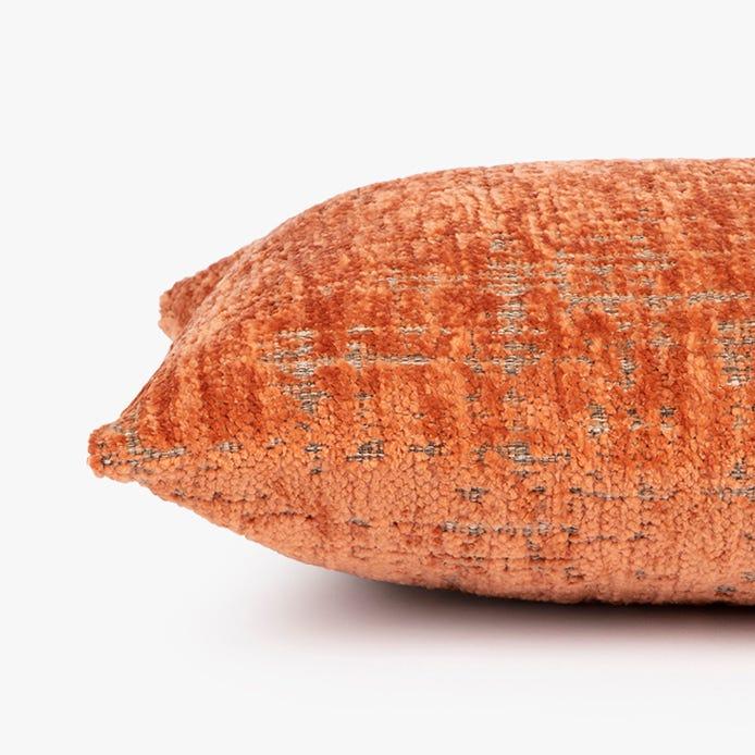 Capa de almofada Himba mescla terracota 30x50 cm