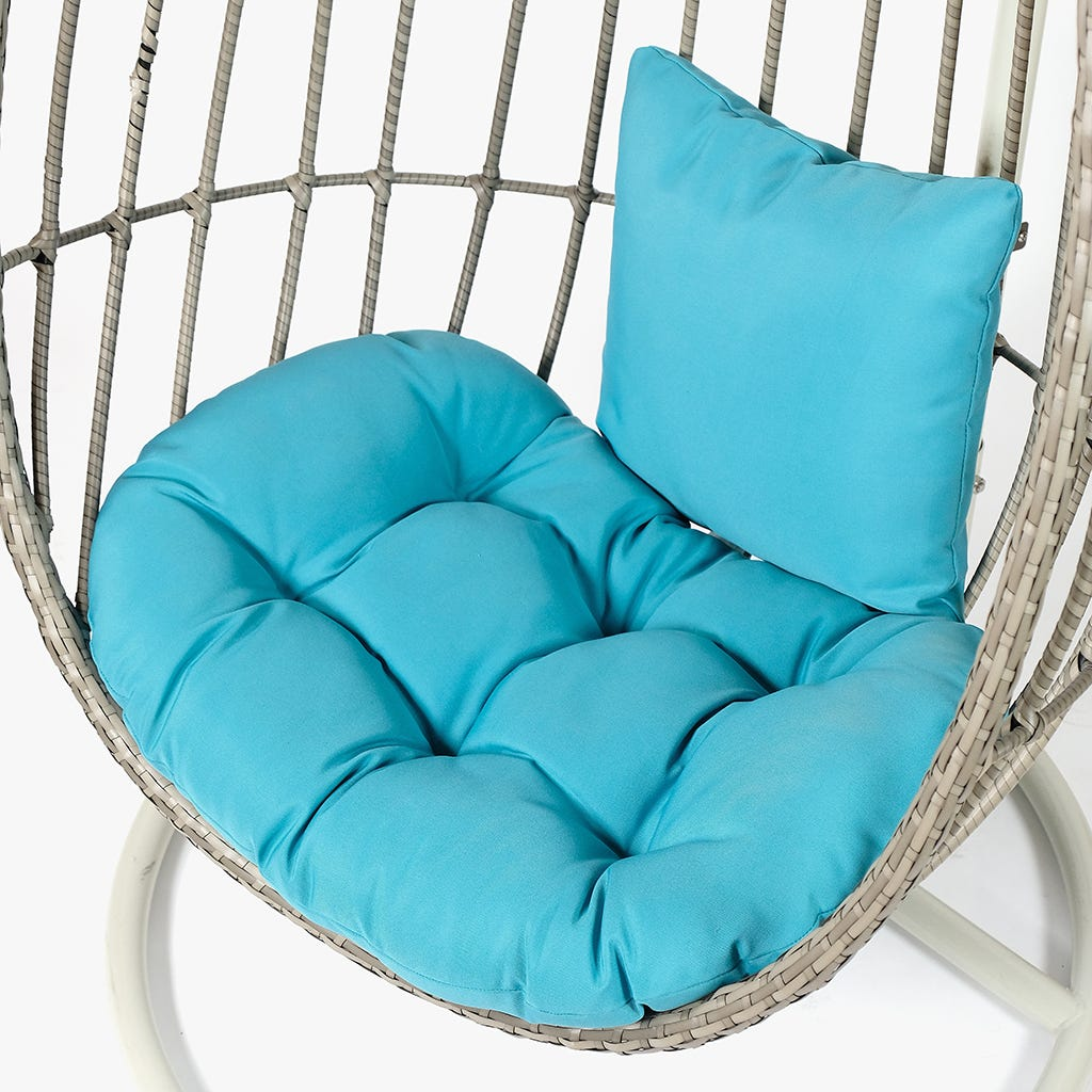 Coussin Ball Spring Turquoise