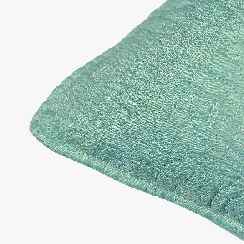 Housse de Coussin Stonewash Bleu 45x45 cm