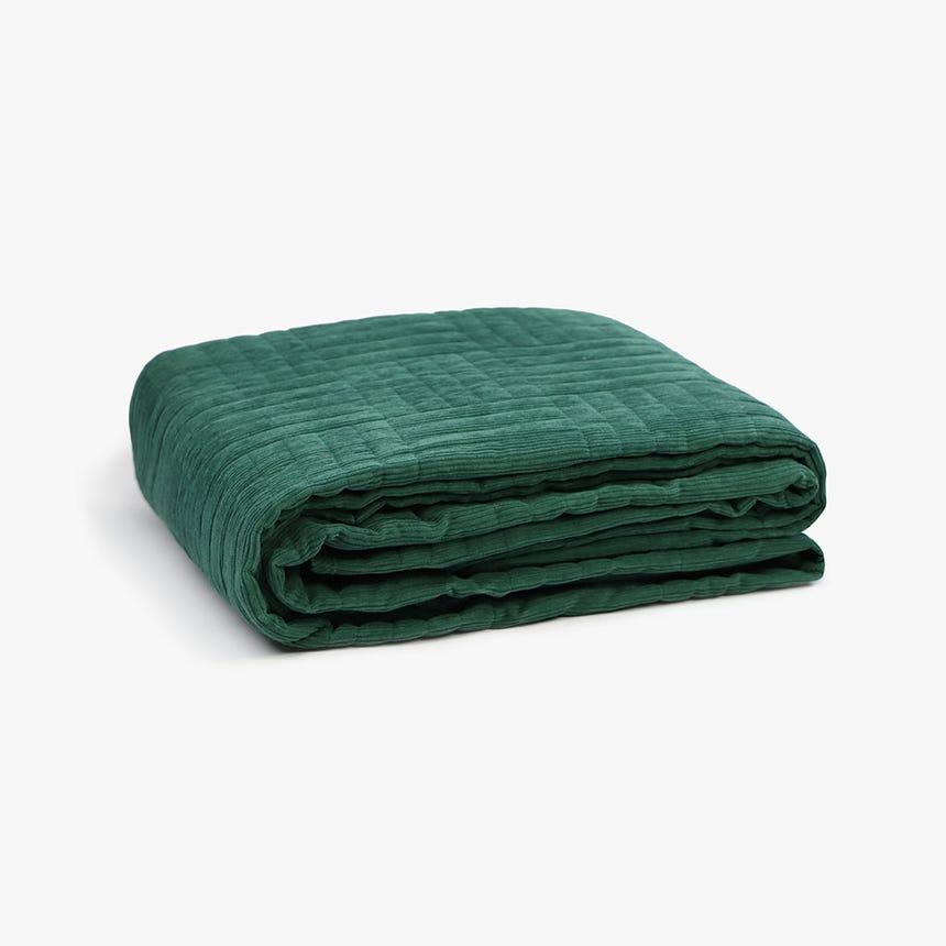 Colcha Bombazine Verde 180x250 cm