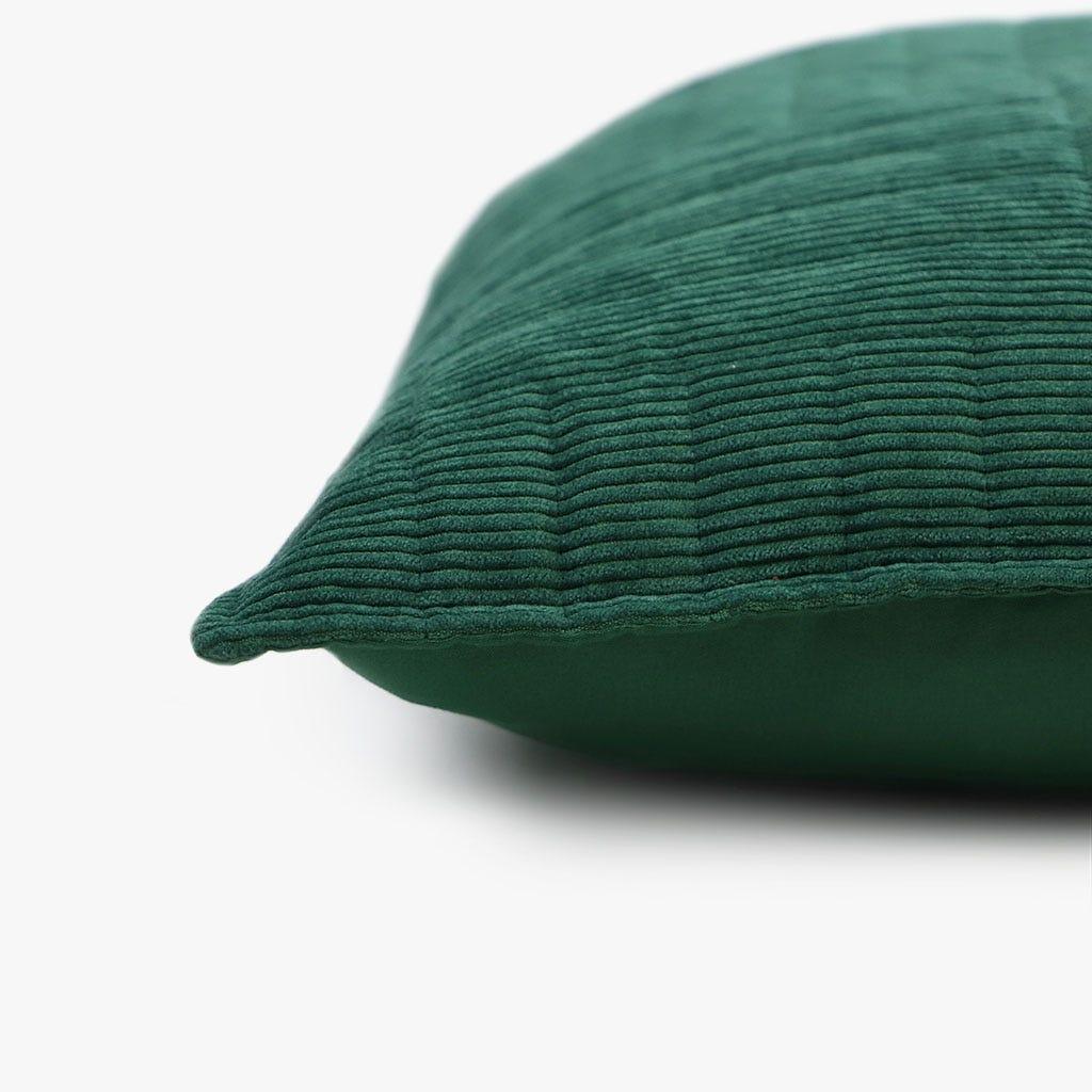 Capa de Almofada Bombazine Verde 50x50 cm