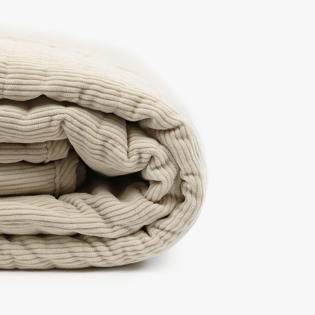 Colcha Bombazine Bege 180x250 cm