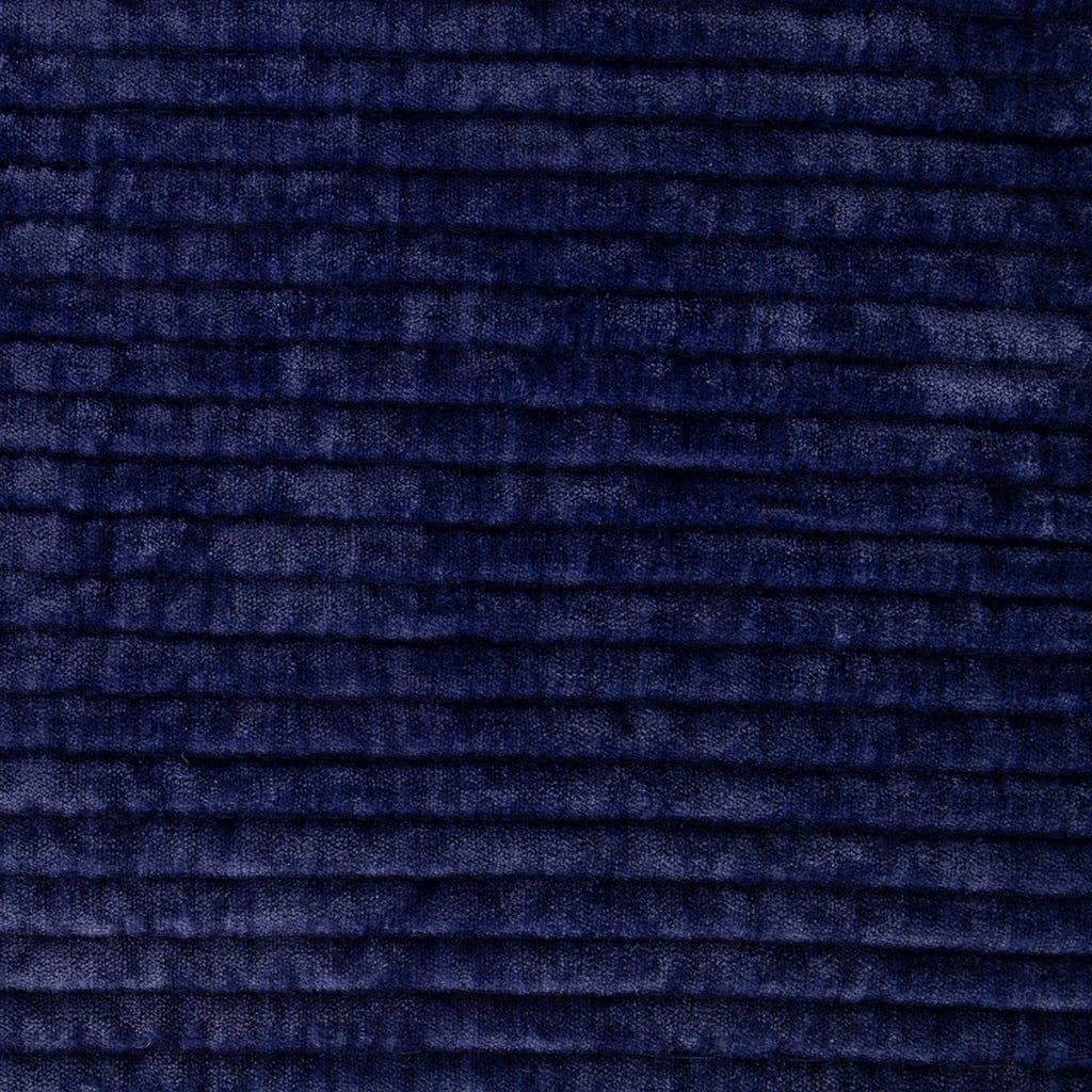 Colcha Himba chenila azul escuro 180x250 cm