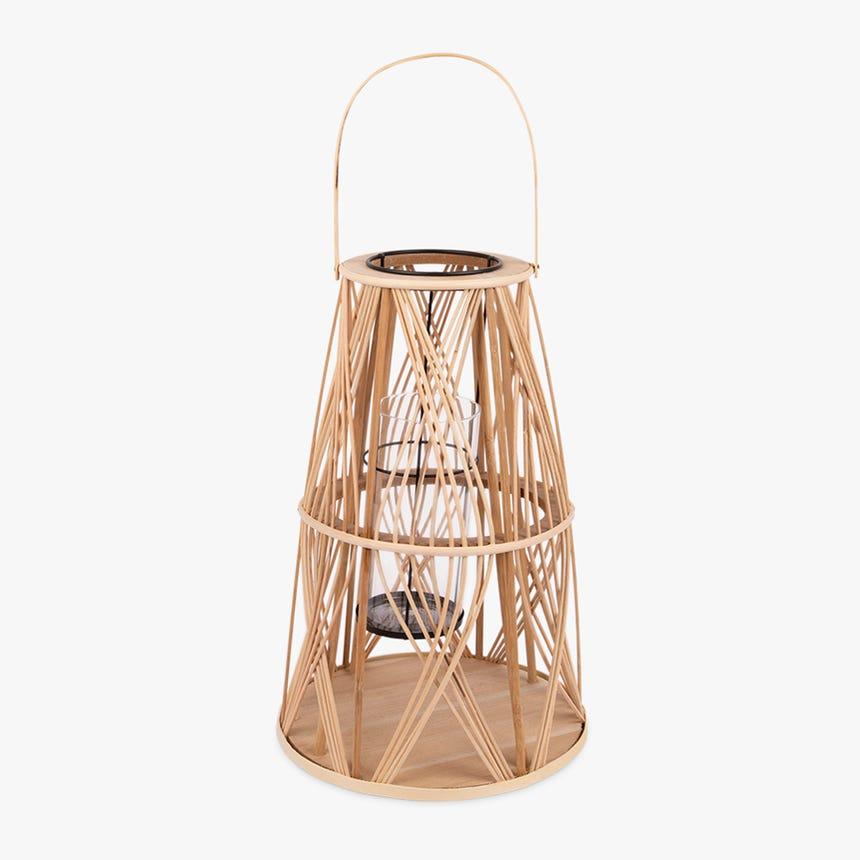 Lanterne Asia Rattan d27x43 cm