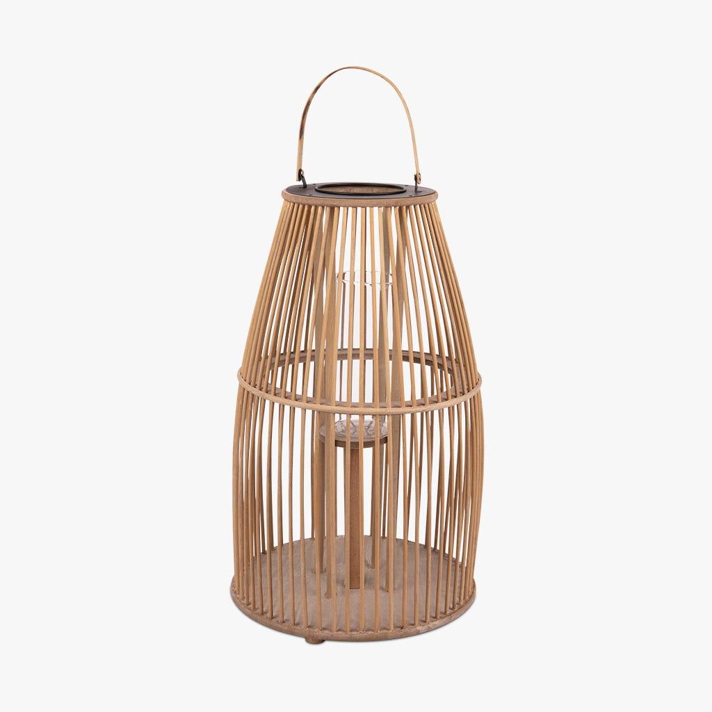 Lanterne Asia Rattan d32x55 cm