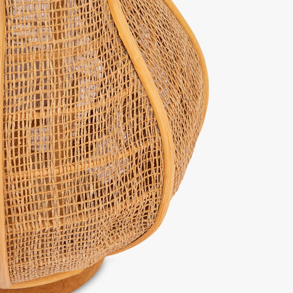 Farolillo Asia Rattan d26x29 cm