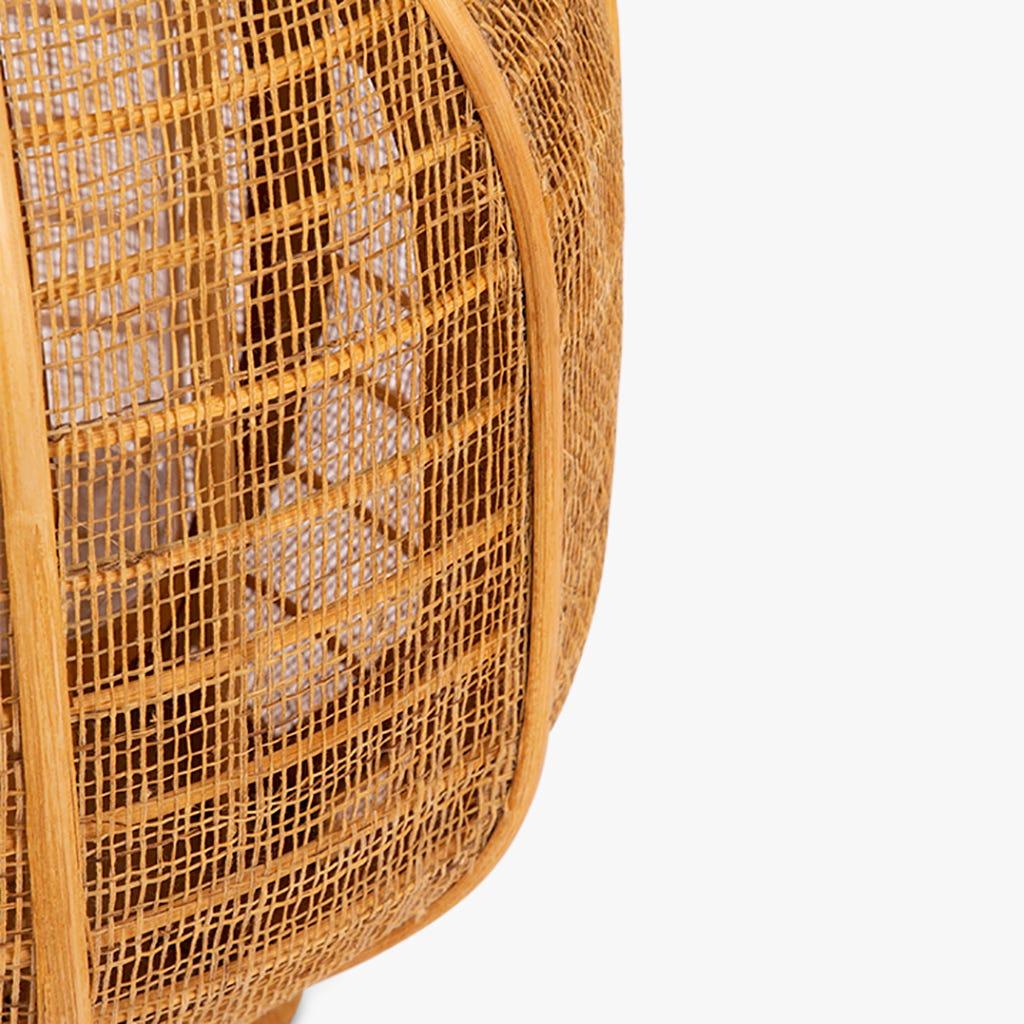 Farolillo Asia Rattan d26x33 cm