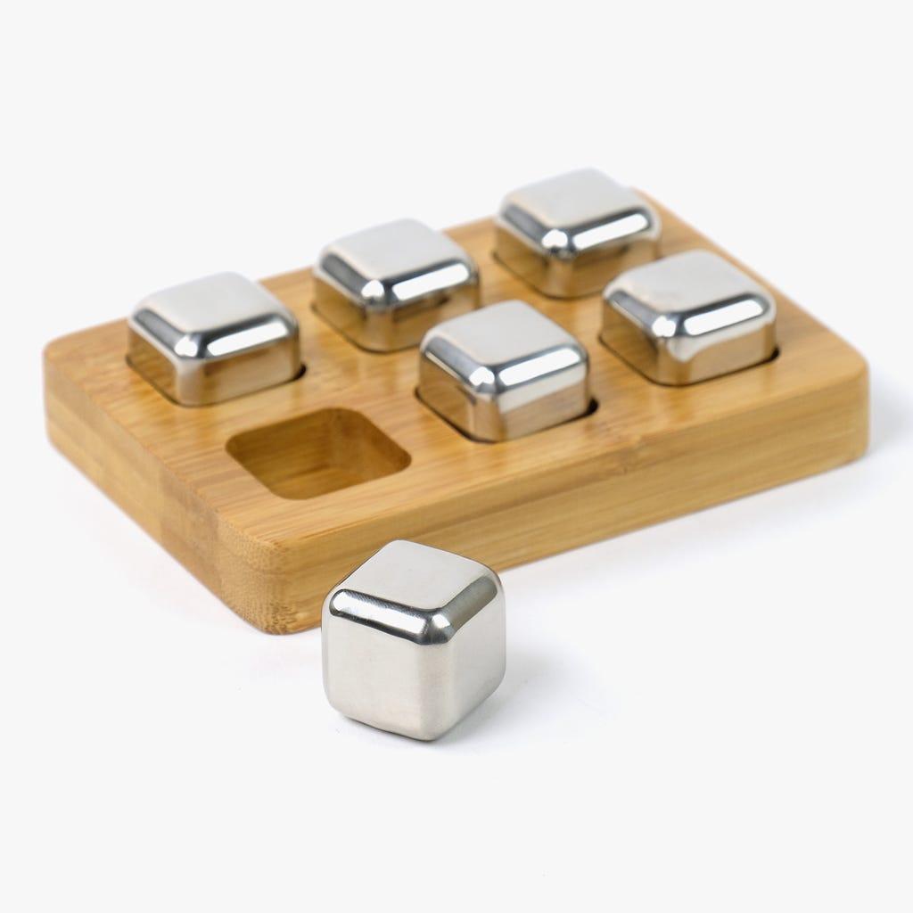 Cubo para Gelo Inox (conjunto6)