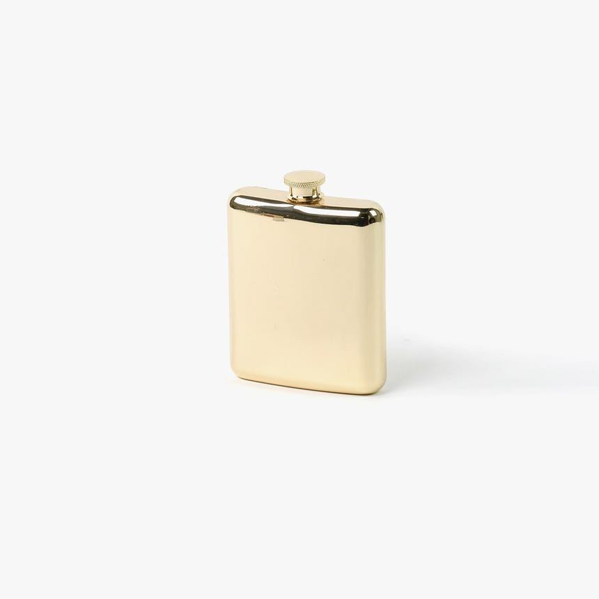 Garrafa de bolso Dourada