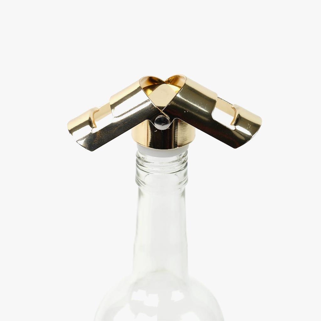 Tapón para botella de champán Oro