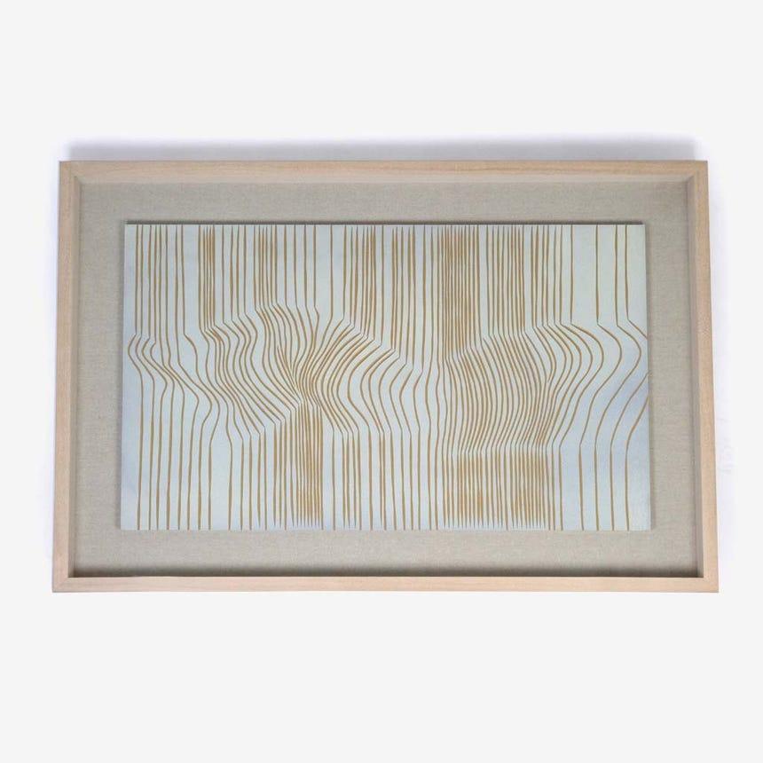 Quadro Curvas de nível 80x120 cm