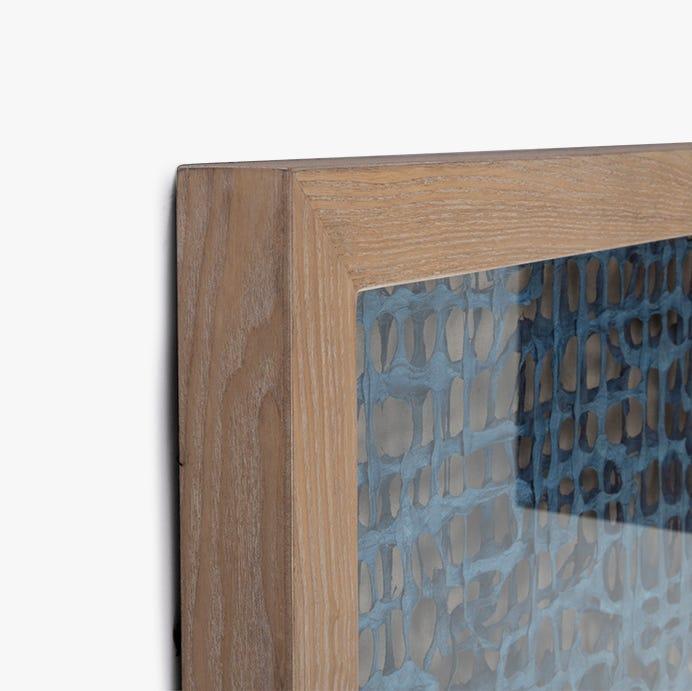 Cadre Contemporary Bleu 80x80 cm