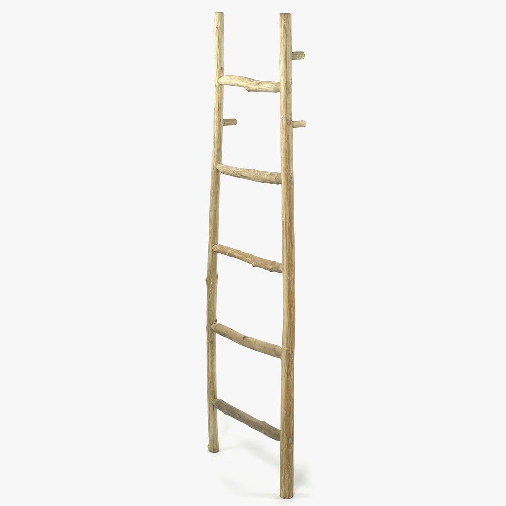 Escada decorativa Madeira 158 cm
