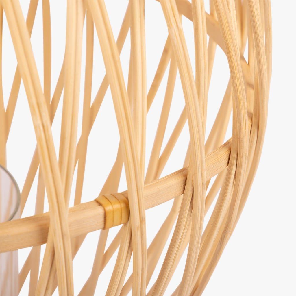 Lanterne Tarim Bambou 31x51 cm