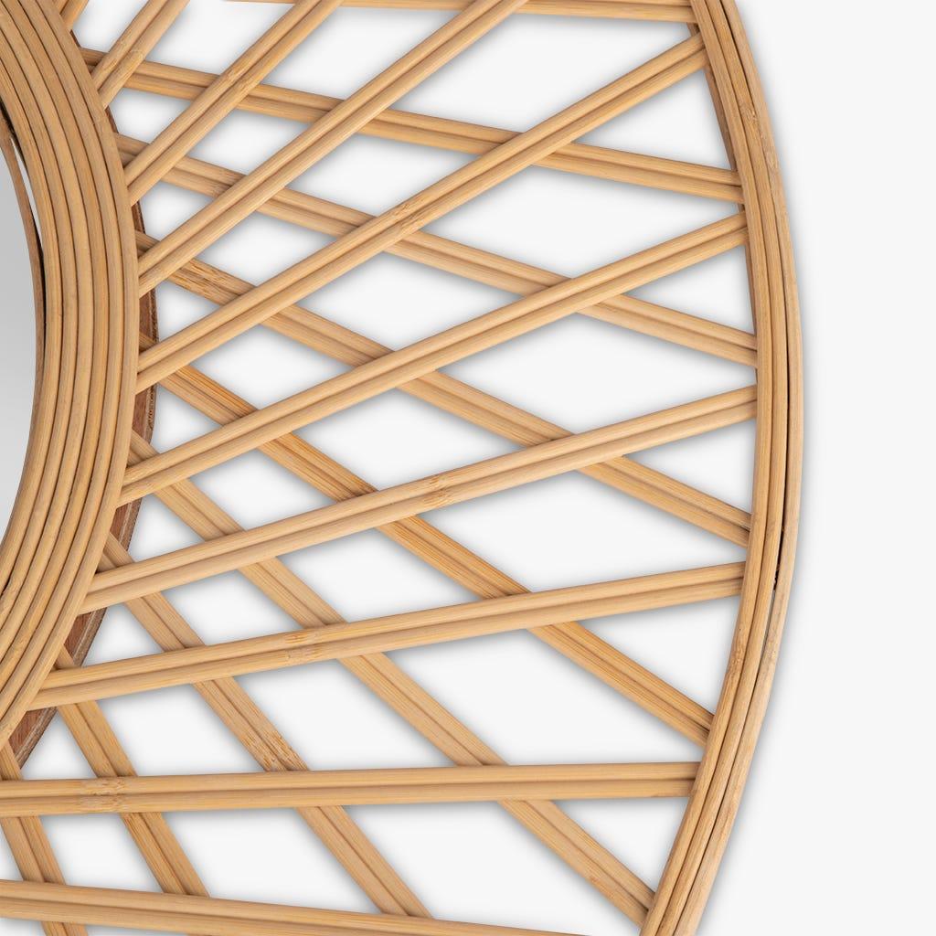 Espejo Tarim Bambú 75 cm