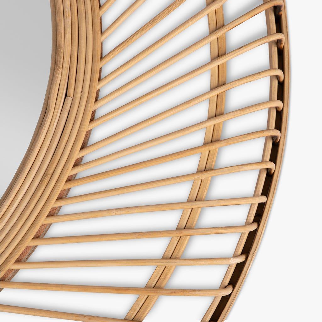 Espejo Tarim Bambú 64 cm