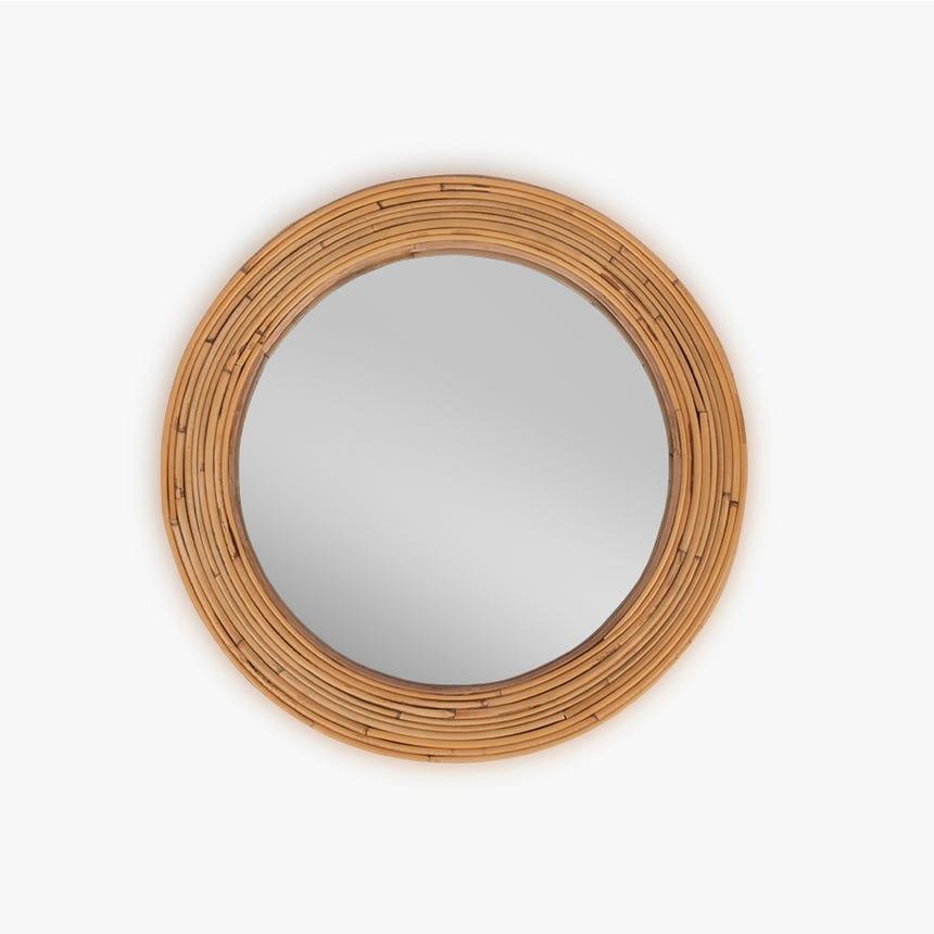 Espejo Tarim Bambú 41 cm
