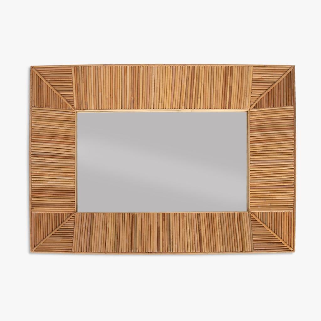 Espejo Tarim Bambú 71x96 cm