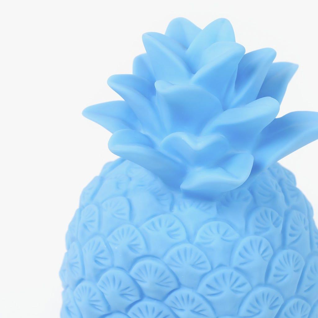 Ananas avec Lumière Bleu 14x14x23 cm